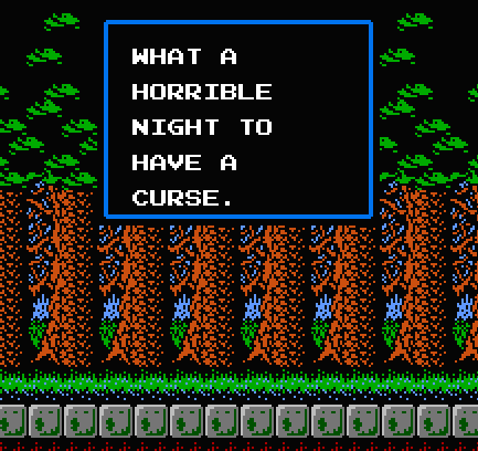 Castlevania-2-What-a-Horrible-Night-to-H